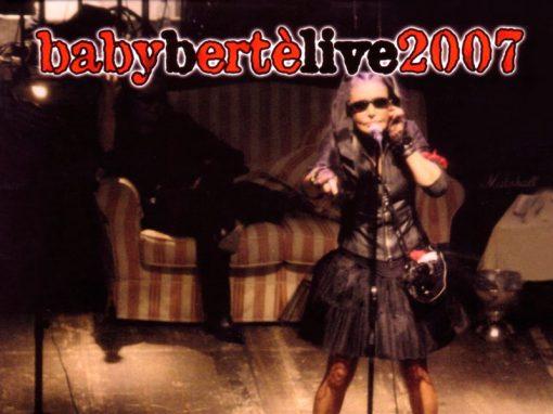 Baby Bertè Live